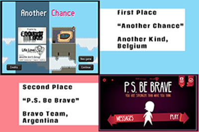 2015 Life.Love. Game Design Challenge Winning Video Games