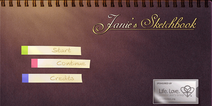 Janie's Sketchbook is an award-winning video game developed to prevent teen dating violence.